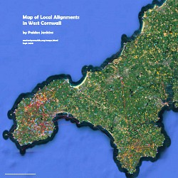 Map of Local Alignments in West Cornwall