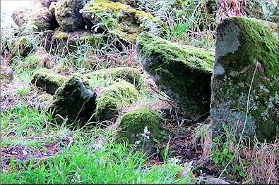 Settlement stones at Bosporthennis - 2,000 years old