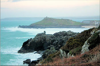 St Ives Head, or 'The Island'